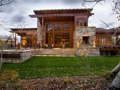 Modern Mountain Homes Modern Rustic Homes Modern Rustic House