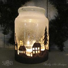 5 zauberhafte Einmachglas Weihnachtsprojekte