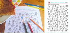 """Spécial chandeleur :  Tous à vos fourchettes et à vos crayons !…  …voici un coloriage offert par le Blog """"Parents Mômes"""" : http://www.momes.net/Coloriages/Coloriages-vie-quotidienne/Coloriages-et-jeux-sur-la-cuisine/Coloriage-Crepes"""
