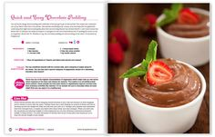 Choc Pudding -The Hungry Hottie Cookbook | The Hungry Hottie Cookbook
