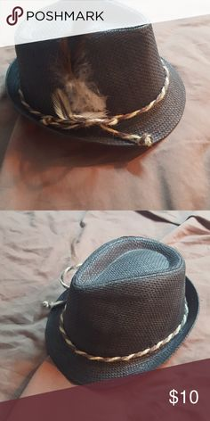 f831b990 Target Fedora trilby hat Target Fedora trilby hat grey with feather accents  🚫 No Trades 🚫