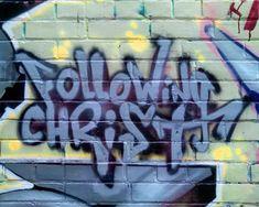 christian graffiti art - Google Search