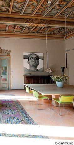 table. mantova house by giampaolo benedini