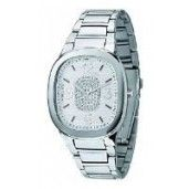 Morellato Ladies Watch Analogue Quartz, White Dial, Silver Strap