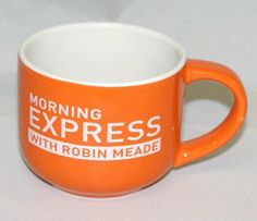Amazon.com: CNN Morning Express with Robin Meade Official Coffee Mug: Kitchen & Dining