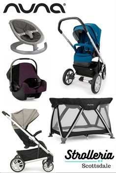 Shop Strolleria for Nuna products you won't find at big-box stores. Visit our family-owned store in Scottsdale to try out all four Nuna strollers, the PIPA car seat, LEAF baby seat and SENA playard!
