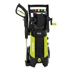 POWER AND PERFORMANCE UNDER PRESSURE! Tackle your toughest home, outdoor and auto cleaning projects with ease! Packed with a powerful 1800-Watt/14.5-amp motor, the Pressure Joe SPX3001 generates up to 2030 PSI of water pressure and 1.76 GPM of water flow to remove road tar, tree sap and insect splats from cars, grease deposits from concrete, heavy mildew, oil and rust stains, caked on mud, and other stubborn yard and garden gunk and grime. The Pressure Joe SPX3001 comes equipped with an extra la Lawn Equipment, Outdoor Power Equipment, Best Pressure Washer, Pressure Washers, Car Washer, Hose Reel, Yard Care, H & M Home, Home