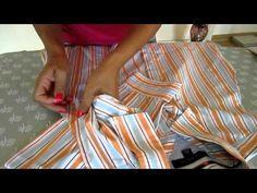 Cómo reciclar una camisa - YouTube