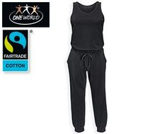 ONE WORLD® Yoga-Jumpsuit mit Fairtrade-Baumwolle