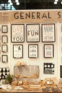 The Trendy Sparrow: My Favorite Craft Show Display Booths