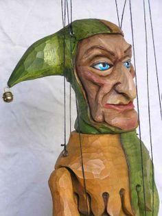 Marionette Jester by Czechoslovakian artist.