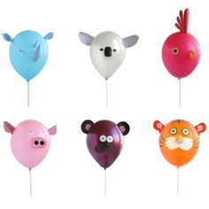 AWW! I want these cute balloons for my birthday party ^^
