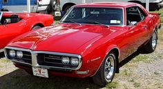 '68 Firebird. I would take this over a Camaro any day !!
