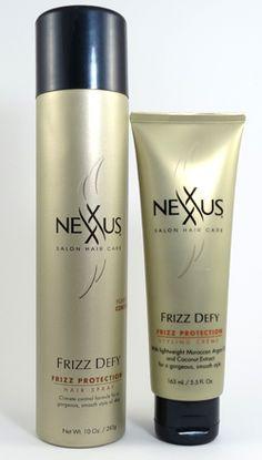 How to Get Smooth, Sleek Style with Nexxus Frizz Defy