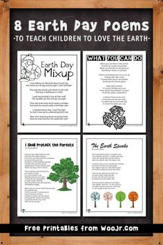English Poems For Children, Kids Poems, Earth For Kids, Love The Earth, Teaching Poetry, Help Teaching, Poem On Environment, Earth Day Poems, Poetry For Kids
