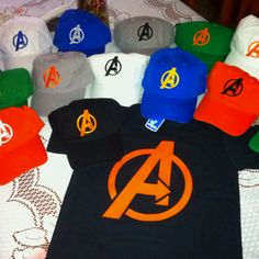 Avengers party! I want to make these for the kids.