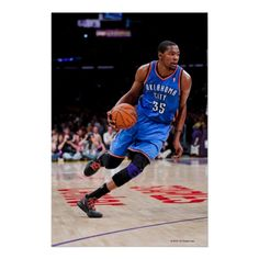 LOS ANGELES, CA - MAY 19: Kevin Durant #35 of 3 Poster $16.60