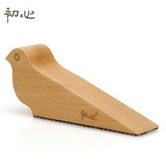 Elegant Door Stops Bird High Range Doorstop, Large Resistance To Avoid Wind, Wooden Door Stopper Wood Tope Puerta