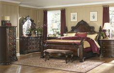 ART Grand European King Bedroom Collection.