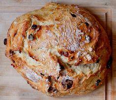 Easy Peasy Cranberry Orange Rustic Bread   Peanut Butter & Dill Pickles Blog (#MarkBittman #NoKneadBread Variations)