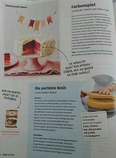 How to make an Ombre Cake + Biskuit Grundrezept