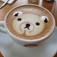 Espresso gallery☕️☕️☕#bangkok#latteart#latteartbkk#art#coffee#coffeeart#bear#mocha#thailand#igthai#igth#espressogallery#ladprao#bkk