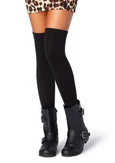 Fleece Lined Over-The-Knee Socks | Socks & Tights | rue21