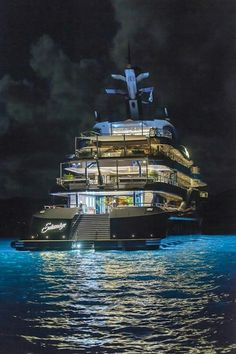 A BEAUTIFUL NIGHT TO CRUISE ON THIS GORGEOUS YACHT!
