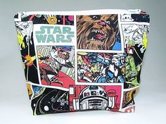 Handmade Star Wars school supply pouch | Back to school shopping on Etsy