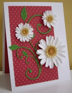 Stamping with Loll:  Daisy Flourish - punches and dies (July 2012)