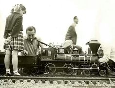 Walt and his trains