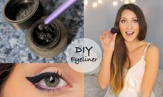 Who doesn't love eyeliner! Here's a a DIY gel eyeliner video. Enjoy!