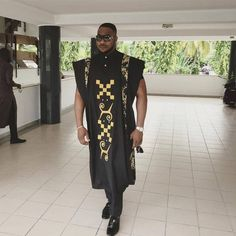 Shaina African agbada set, matching shirt and pant/African clothing / African men clothing / wedding suit/groom suit/dashiki African Wear Styles For Men, Ankara Styles For Men, African Dresses Men, Ankara Short Gown Styles, African Clothing For Men, Short Gowns, African Attire, Short Sleeve Dresses, African Clothes