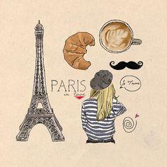 Paris, in symbols