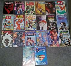 Lot of 20 Comics From TV & Movies - Copper to Modern Age VF/NM+