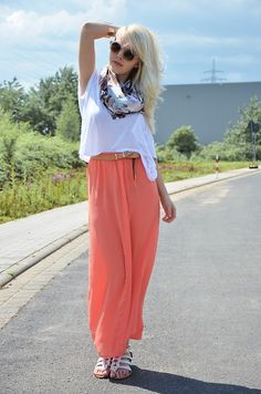 Peachy  !     (Giveaway on my blog ) (by Tanita Ley) http://lookbook.nu/look/3665199-Peachy-Giveaway-on-my-blog