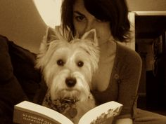 Outside of a Westie, a book is a woman's best friend. Inside of a Westie it is too dark to read.