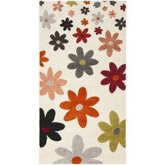 Safavieh Porcello Contemporary Daisies Rug