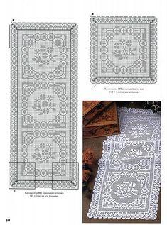 trittico filet quadrato rettangolare
