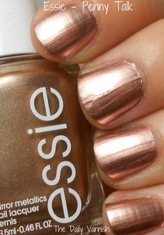 My new nail color obsession:  Penny Talk by Essie.  perfect for any season  #alishopspinfest