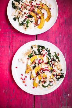 Vegan Pumpkin Kale Salad