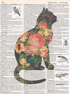CatFlowers. Feline.Book