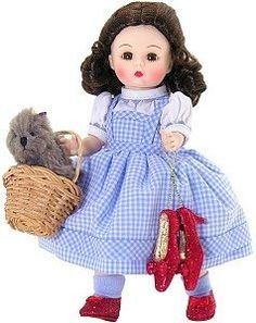 """Madame Alexander Wizard of Oz Hollywood Collection Doll - Dorothy 8"""" by Madame Alexander, http://www.amazon.com/dp/B000O911G4/ref=cm_sw_r_pi_dp_OXvNrb0Q21E2E"""