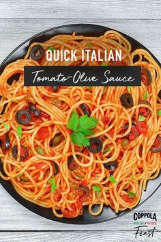 Earthy, zesty, and truly exceptional. Spice up a classic with this easy delicious recipe! Spaghetti Recipes, Pasta Recipes, Italian Dishes, Italian Recipes, Special Recipes, Great Recipes, La Trattoria, Wine Recipes, Cooking Recipes