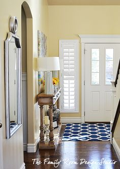 Front entry plantation shutters, front door plantation shutters