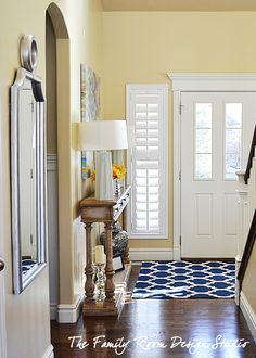 Front entry plantation shutters, front door plantation shutters