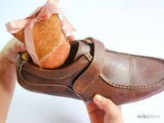 How to Sew a Scented Shoe Stuffer -- via wikiHow.com