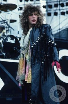 Jon Bon Jovi - I always loved that fringe jacket...