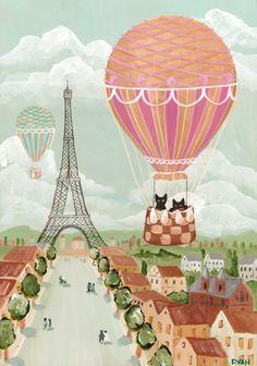 kilkennycat:  Hot air balloon ride!