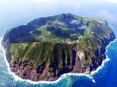 Aogashima Island, Japan..